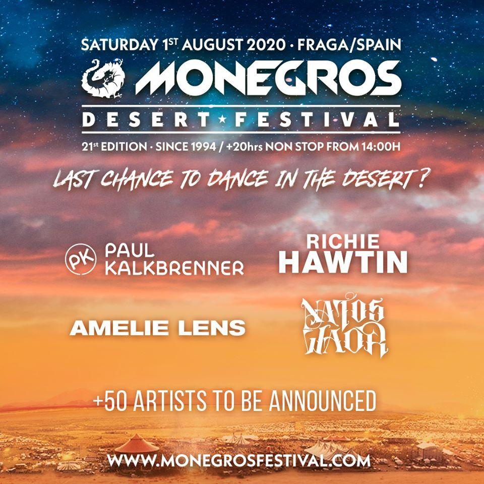 Primer anuncio Monegros Desert Festival