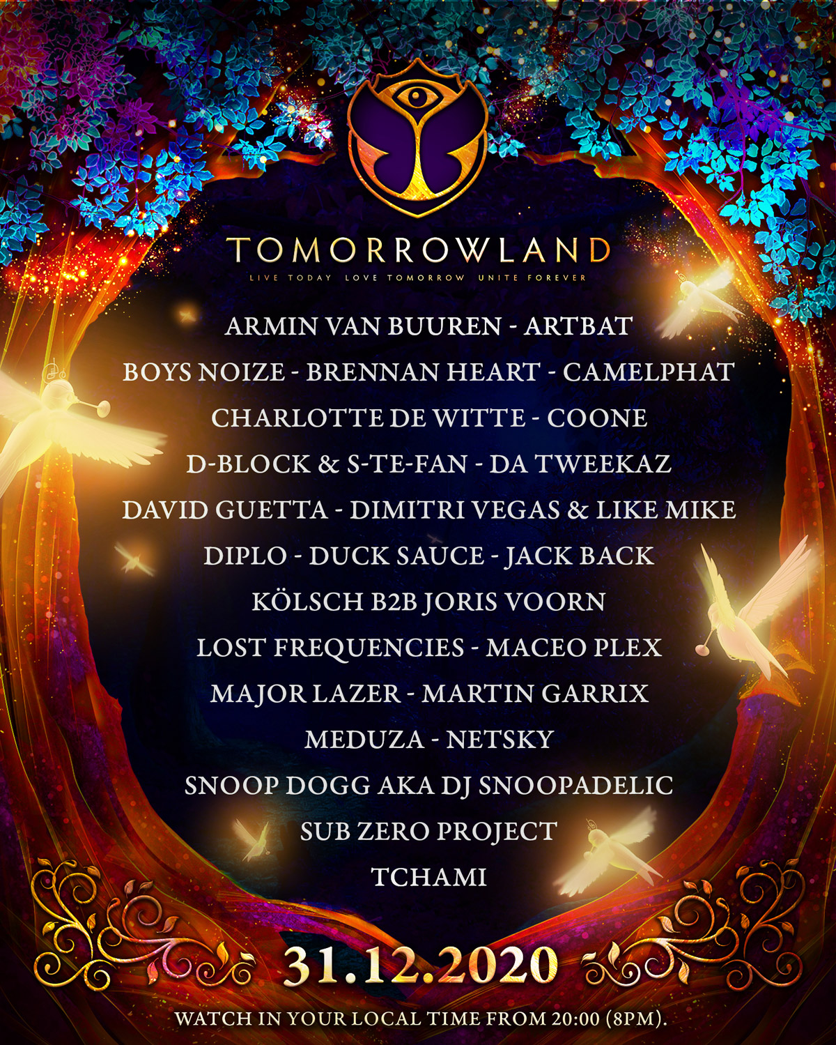 Tomorrowland 31.12