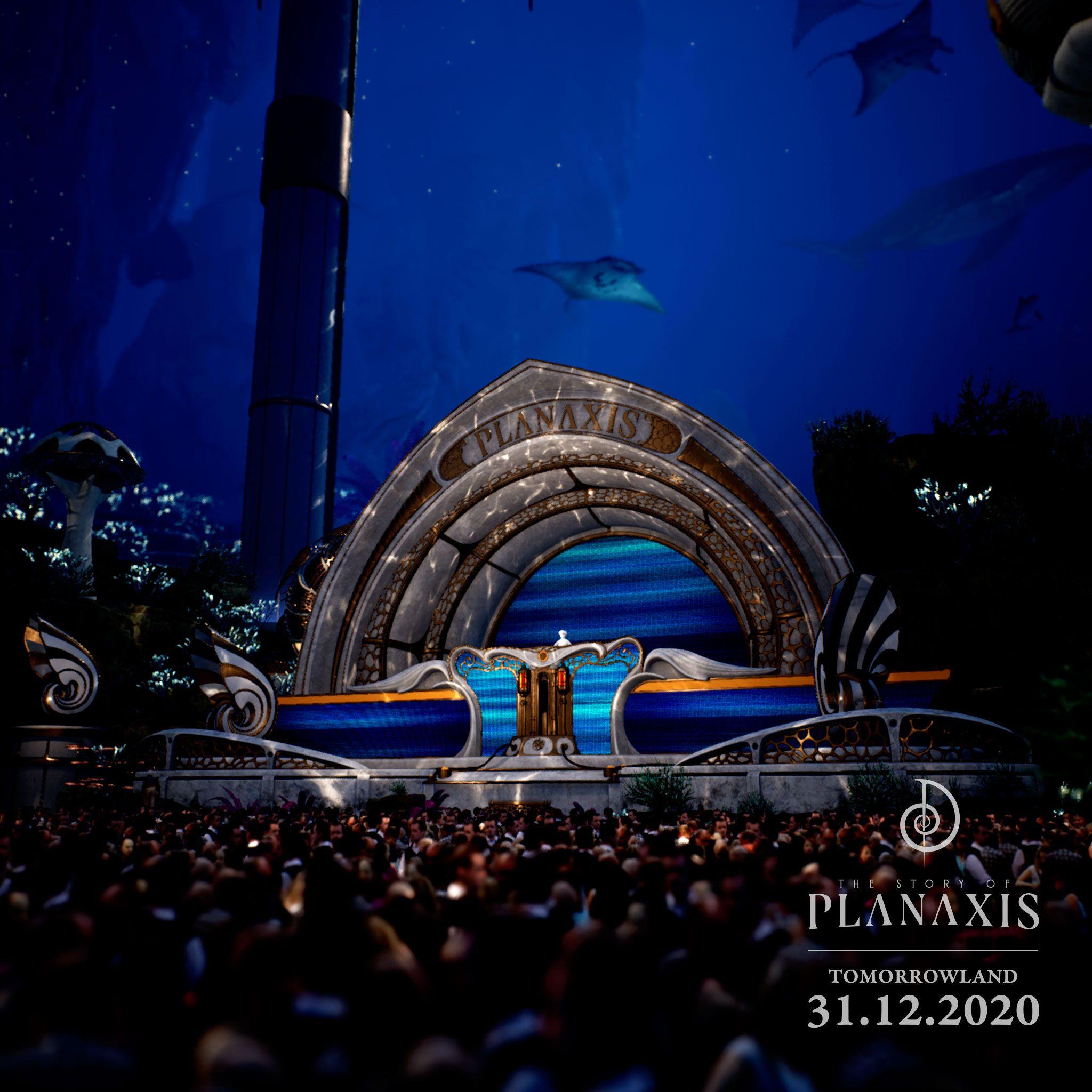Escenario Planaxis Tomorrowland 31.1.2020